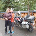 B.C. motorcycling Atlin Liard hotsprings