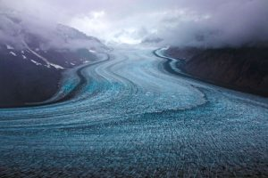 The Salmon Glacier, Hyder, Alaska