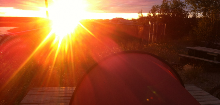 Inuvik land of midnight sun