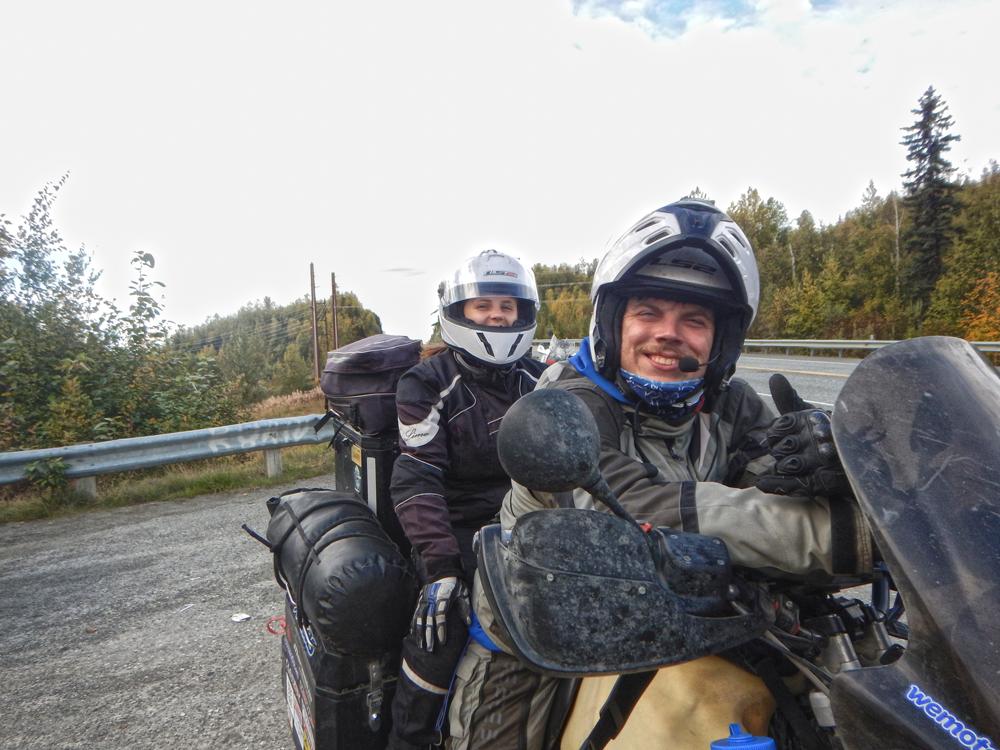 Riding in Alaska