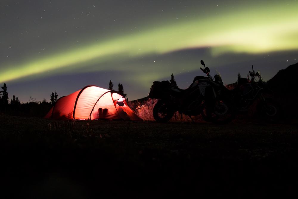Denali National Park northern lights