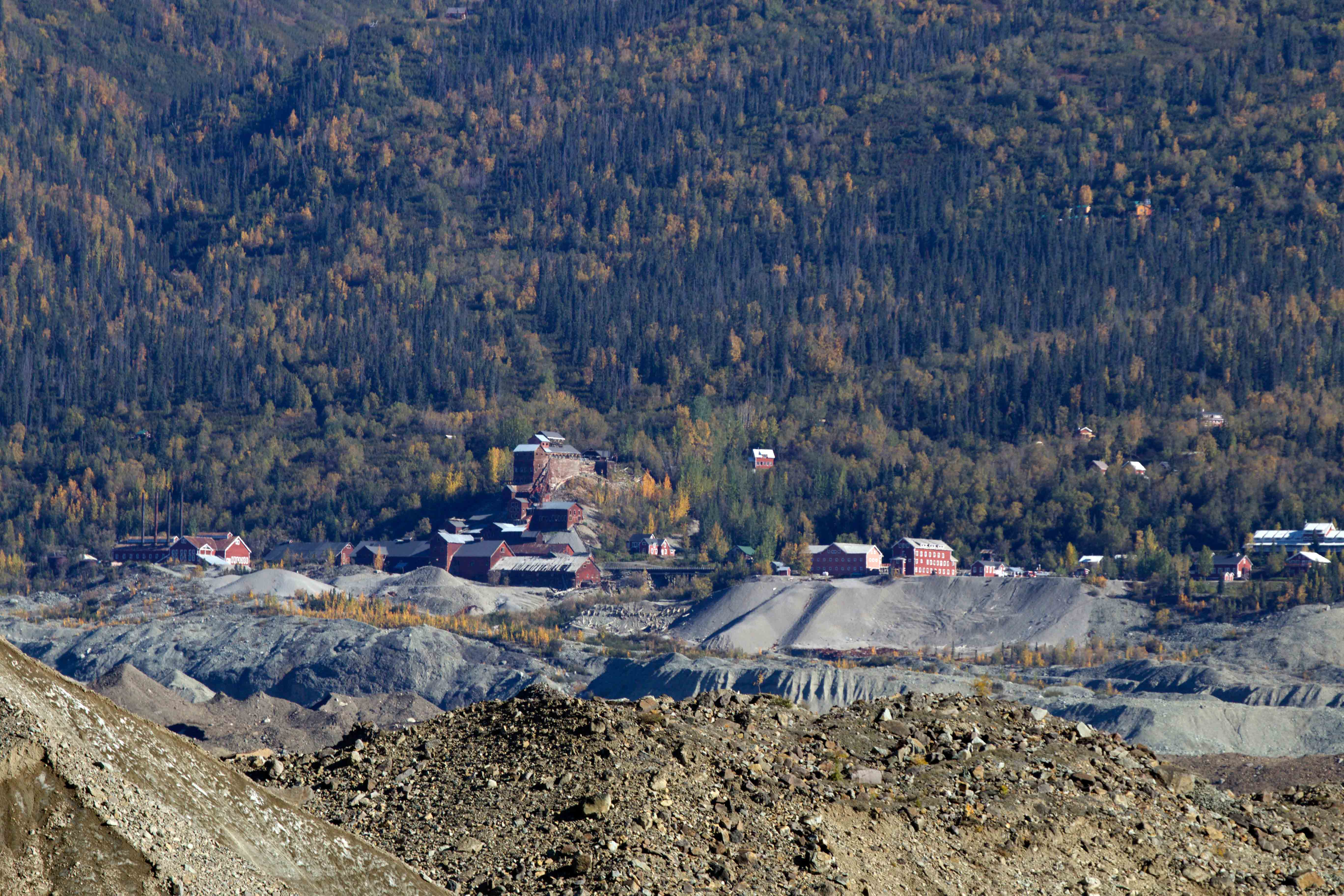 Kennecott mine mccarthy Alaska