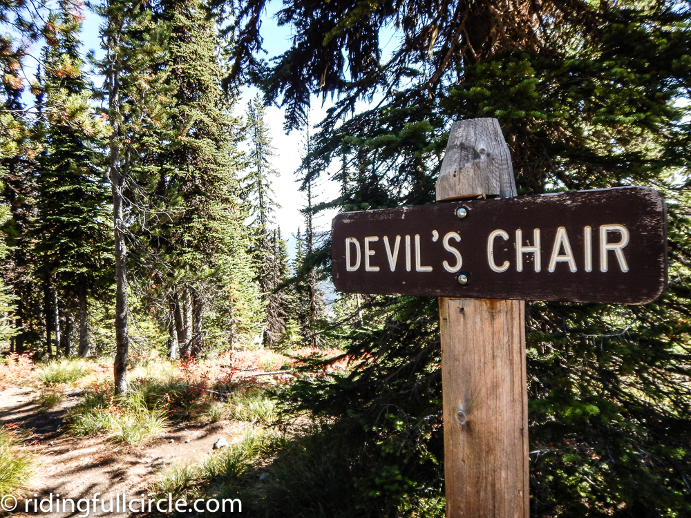 Devil's Chair Idaho