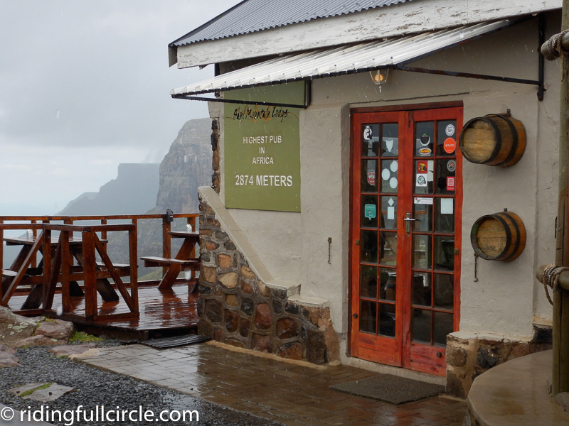 sani pass, africa's highest pub