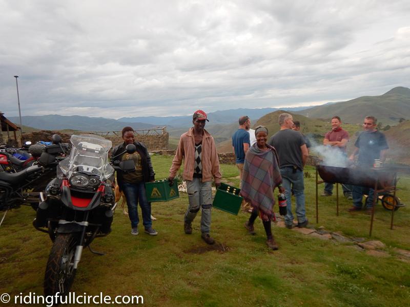 Molumong, Lesotho, beer in Africa