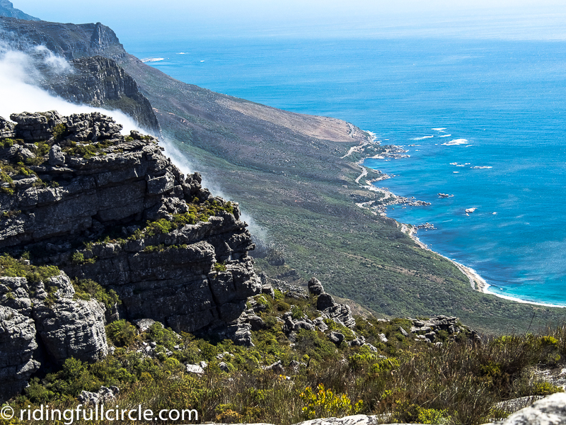 Table Mountain hike South Africa
