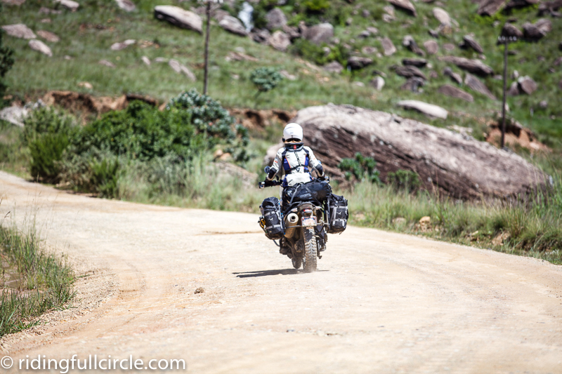 Sani pass, mosko moto bags, revit riding gear
