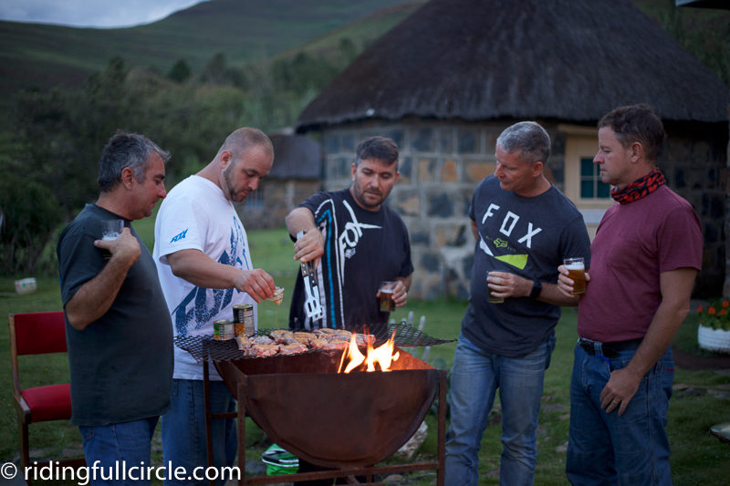 Molumong, Lesotho, south african BBQ braai