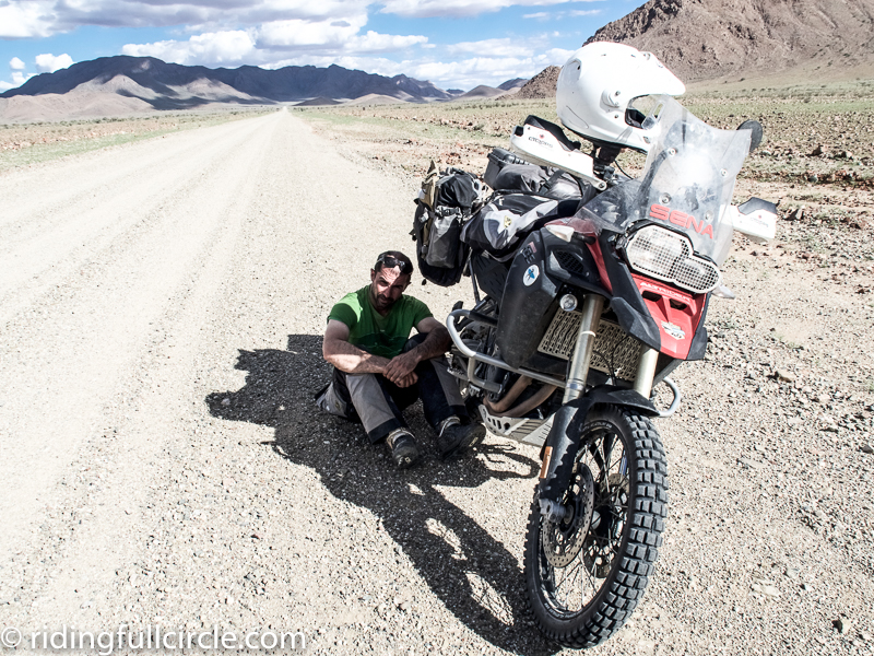 Namibian motorcycle trip most moto stuabwolke crash bars