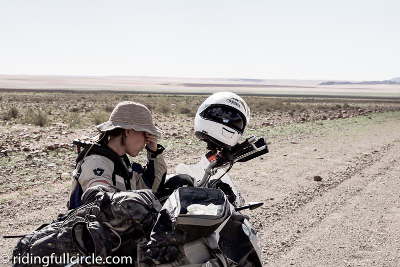 Namibia motorcycle trip revit sport sand jacket