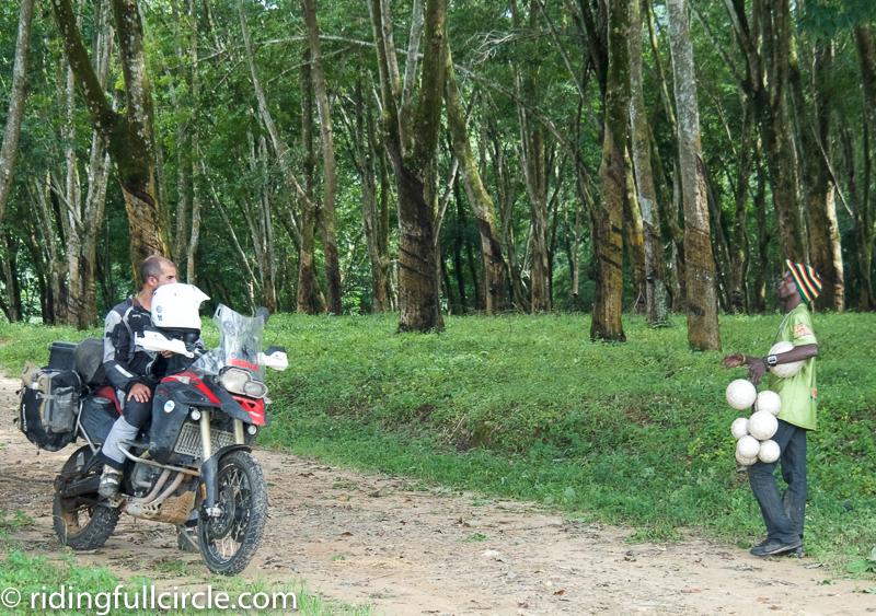 riding full circle africa motorcycle trip malawi