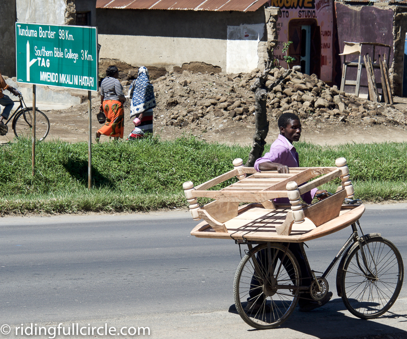 Africans riding full circle
