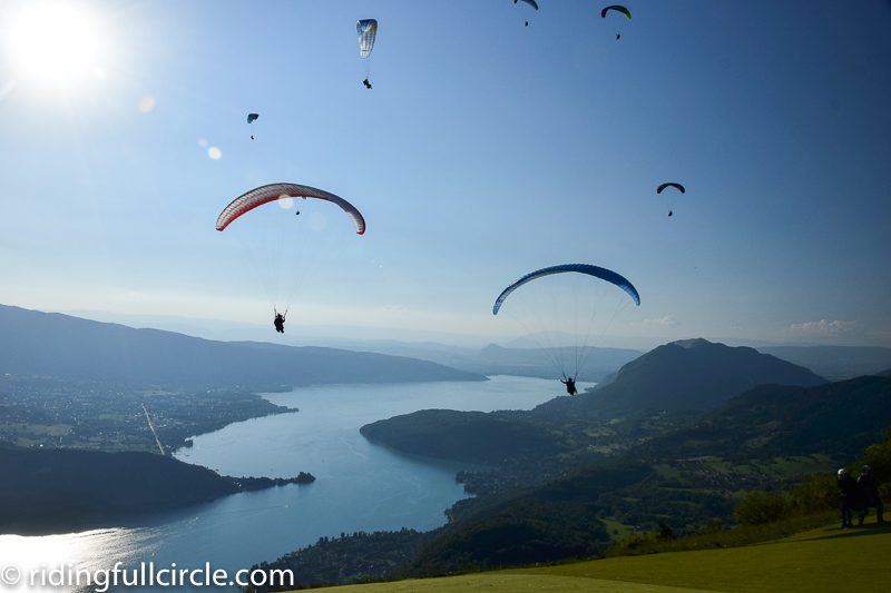 french alps riding full circle heather lea dave sears paragliding paraponte france