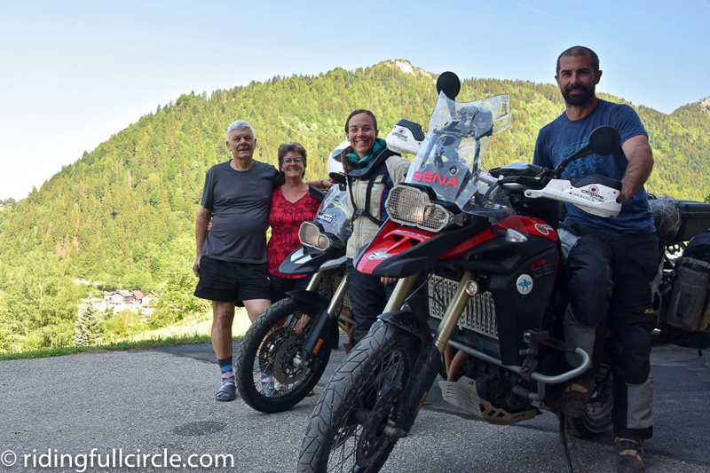 french alps riding full circle heather lea dave sears montmin