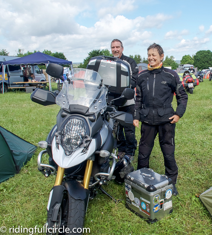 touratech travel event riding full circle heather lea dave sears germany