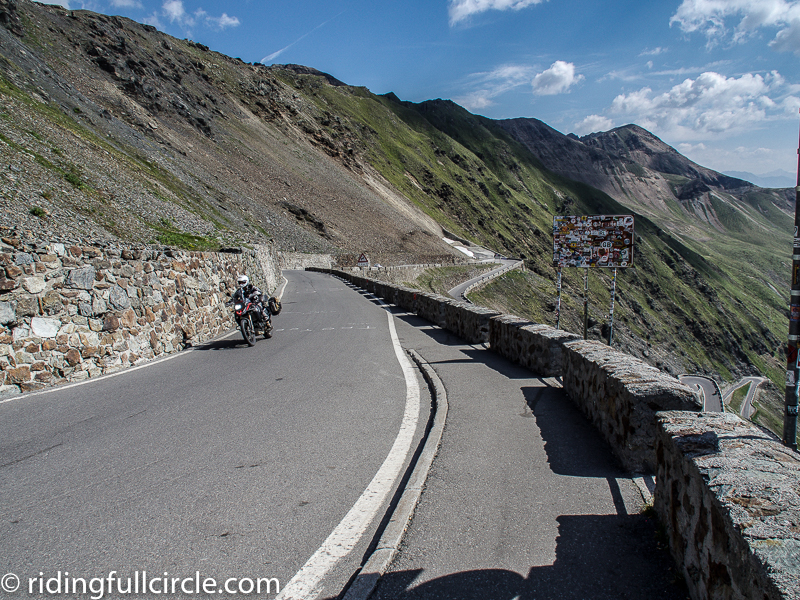 riding full circle heather lea dave sears stelvio pass italy