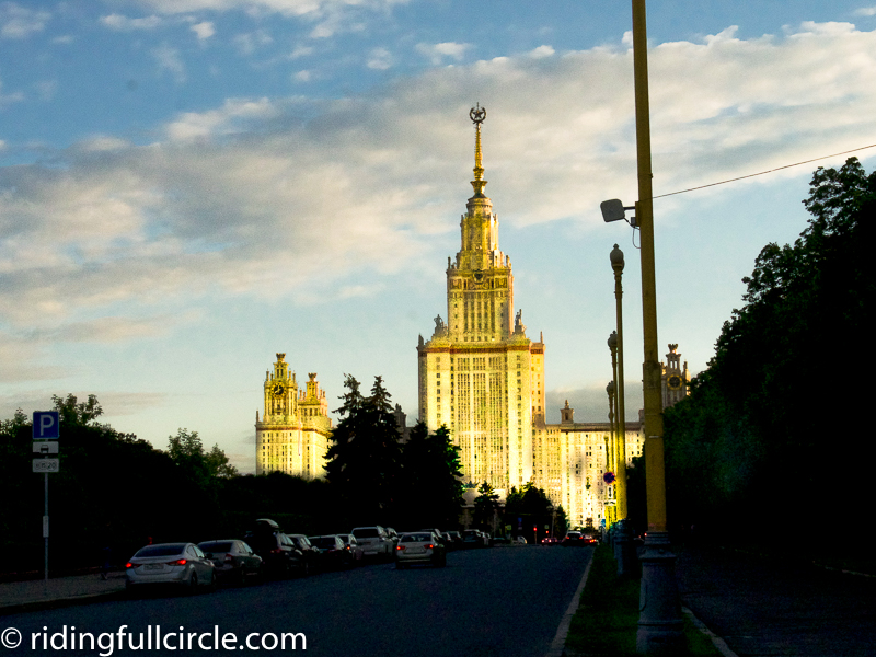 riding full circle heather lea dave sears world motorcycle tours moscow university