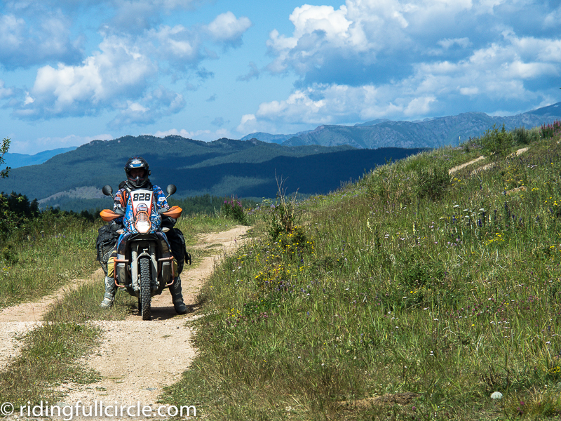 riding full circle heather lea dave sears overland motorcycle journey adventure team latvia Altai Region Russia