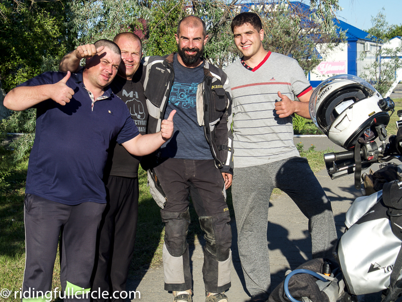 riding full circle heather lea dave sears kazakhstan motorcycle world tour