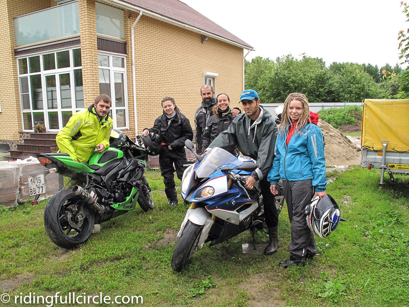 ridingfullcircle heather lea dave sears around the world on motorocycles russian windows
