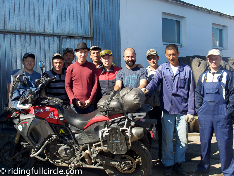 riding full circle heather lea dave sears motorcycle adventure around the world kazakhstan