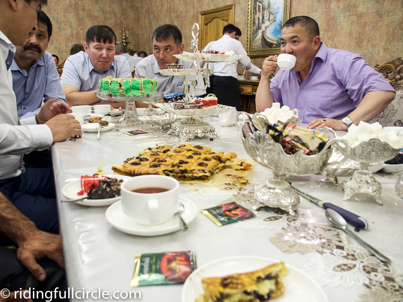 riding full circle heather lea dave sears kazakhstan motorcycle world tour kazakhstan wedding
