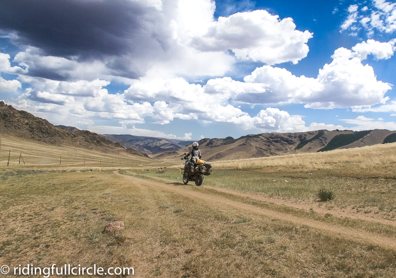 riding full circle heather lea dave sears motorcycle round the world adventure mongolia