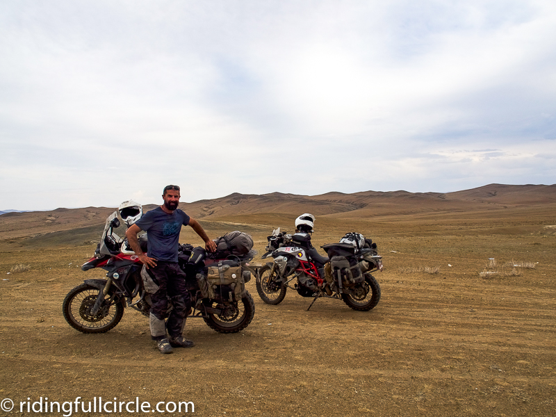 riding full circle heather lea dave sears motorcycle adventure mongolia ulaanbaatar