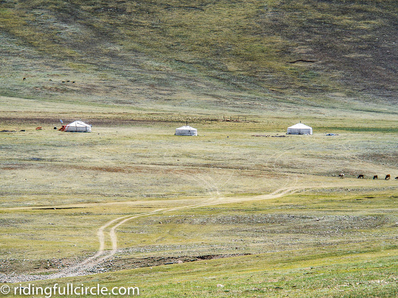 riding full circle heather lea dave sears mongolia motorcycle adventure travel mongolian yurts gers
