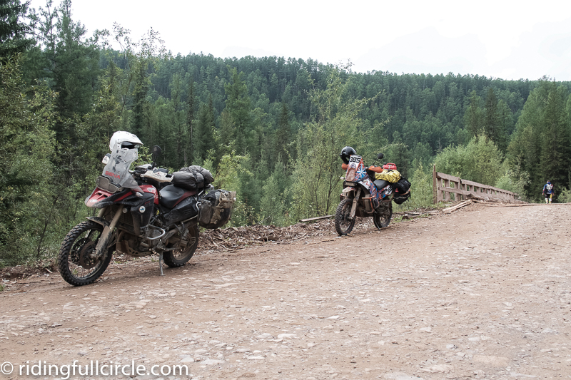 riding full circle heather lea dave sears trans siberian russia BAM road baikal amur mainline lake baikal adventure team latvia BAM road baikal amur mainline